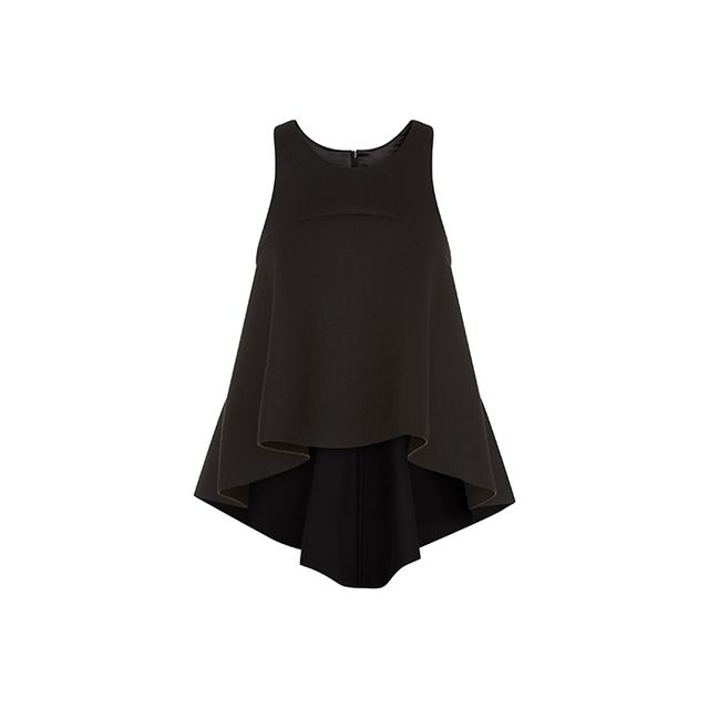Milly Bonded Neoprene Trapeze Top