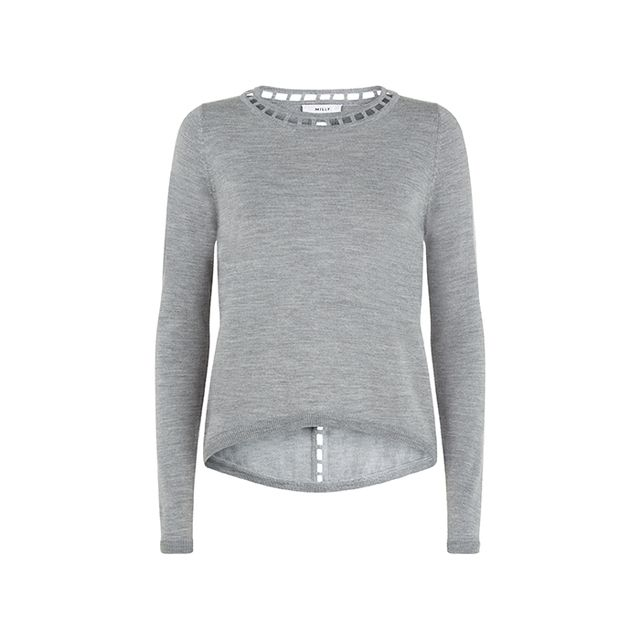 Milly Bar Inset Pullover