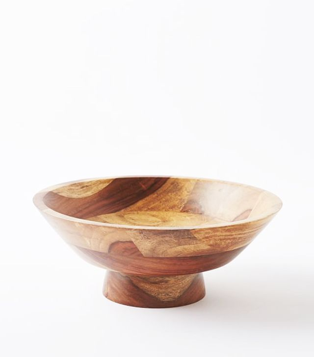 West Elm Sheesham Wood Bowls