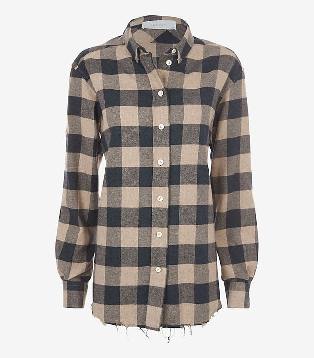 IRO Plaid Flannel Shirt