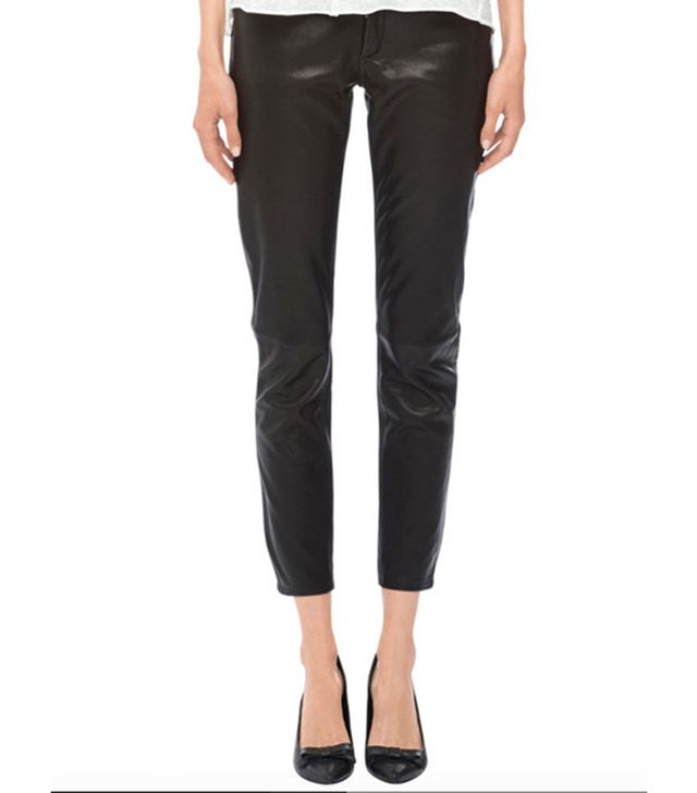 Anine Bing Loose Fit Leather Pants