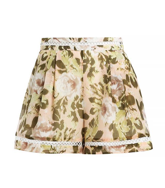 Zimmermann Admire Flare Shorts