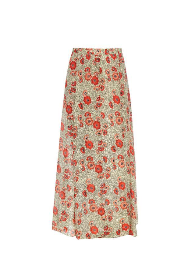 Étoile Isabel Marant Shadow Floral-Print Maxi Skirt