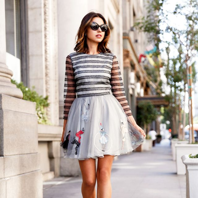 4 Genius Styling Tips to Dress Down a Cocktail Dress