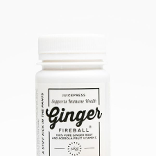 Juice Press Ginger Fireball Suckers