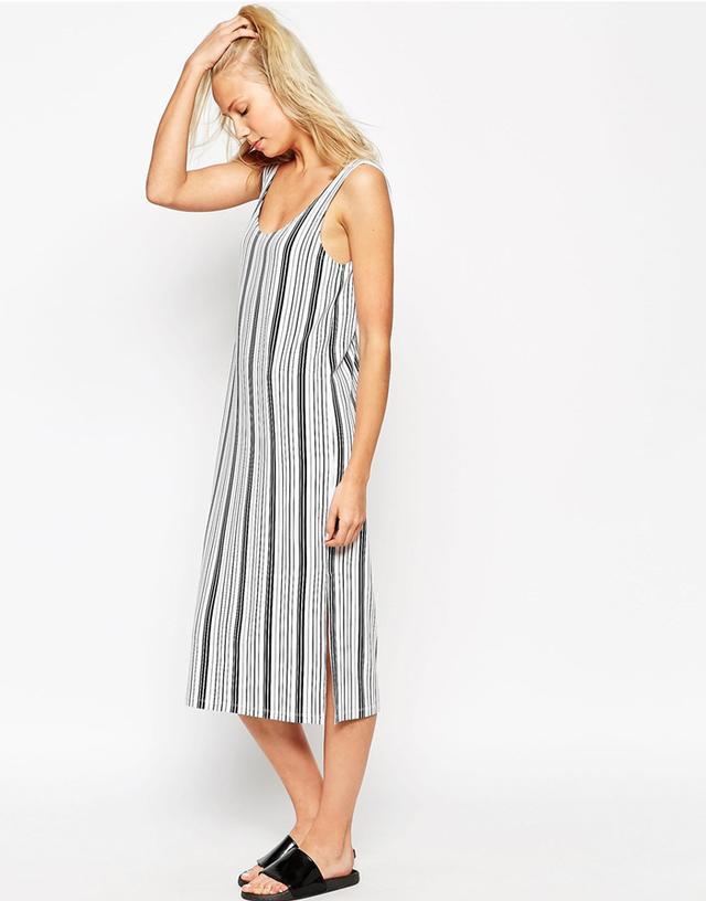 ASOS Column Midi Dress