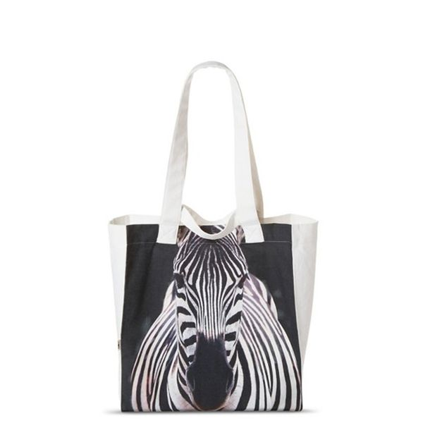 Target Zebra Reusable Grocery Tote