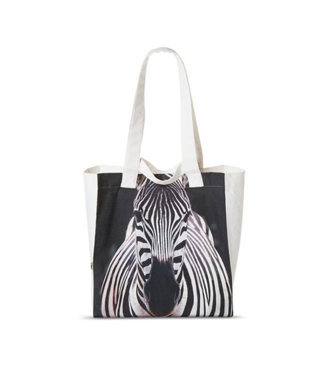 Target Zebra Reusable Grocery Tote