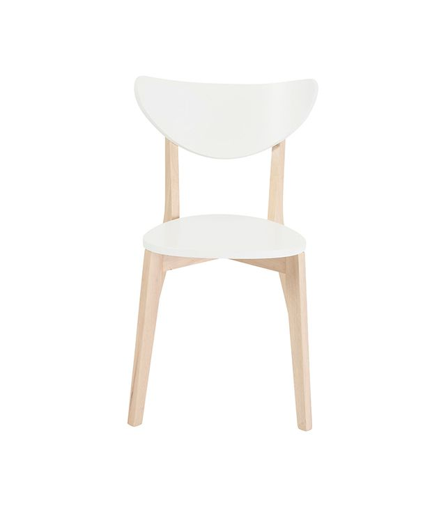 One Kings Lane White Quigley Side Chair