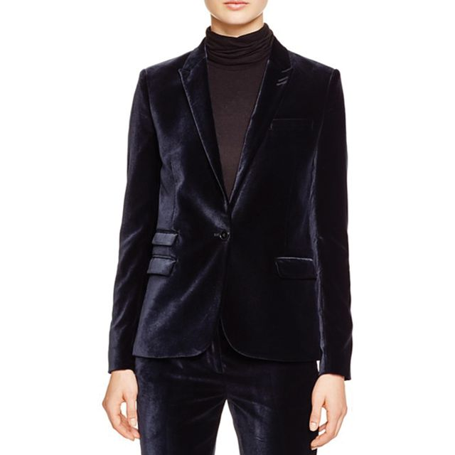 Kooples Glam Velvet Blazer - Bloomingdale's Exclusive