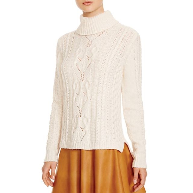 Joie rissa B Fisherman Cable Knit Sweater - Bloomingdale's Exclusive