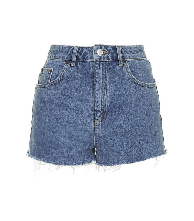 Topshop Vintage Mom Shorts