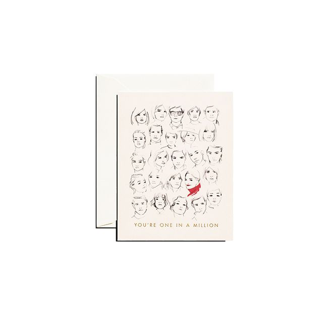 Garance Doré You're One In A Million Card