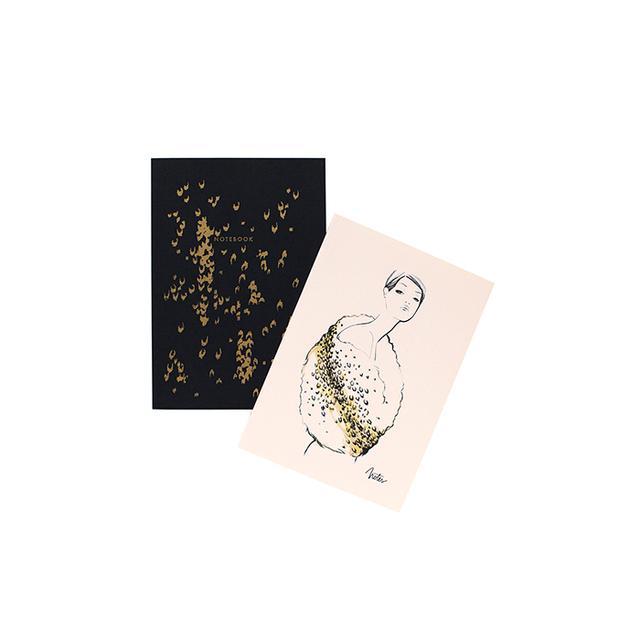 Garance Doré Leopard Notebook Set