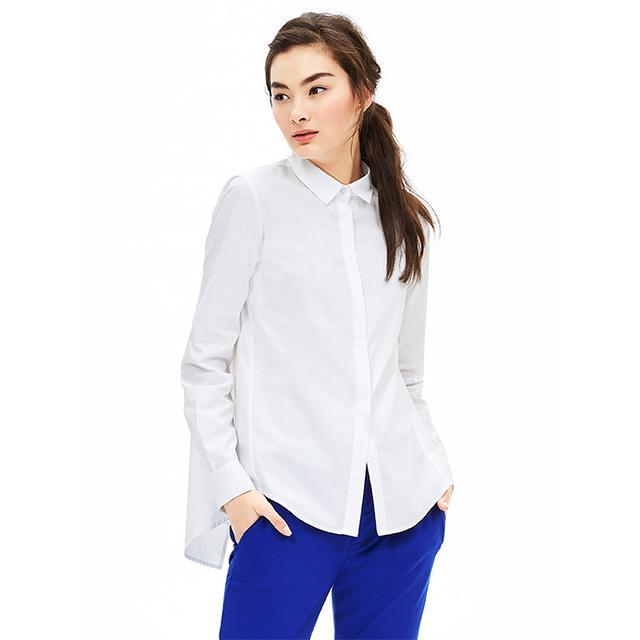 Banana Republic, Drape Button-Back Shirt Drape Button-Back Shirt