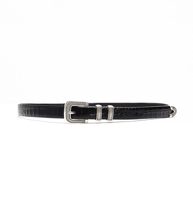 Zara Special Leather Best With Buckle
