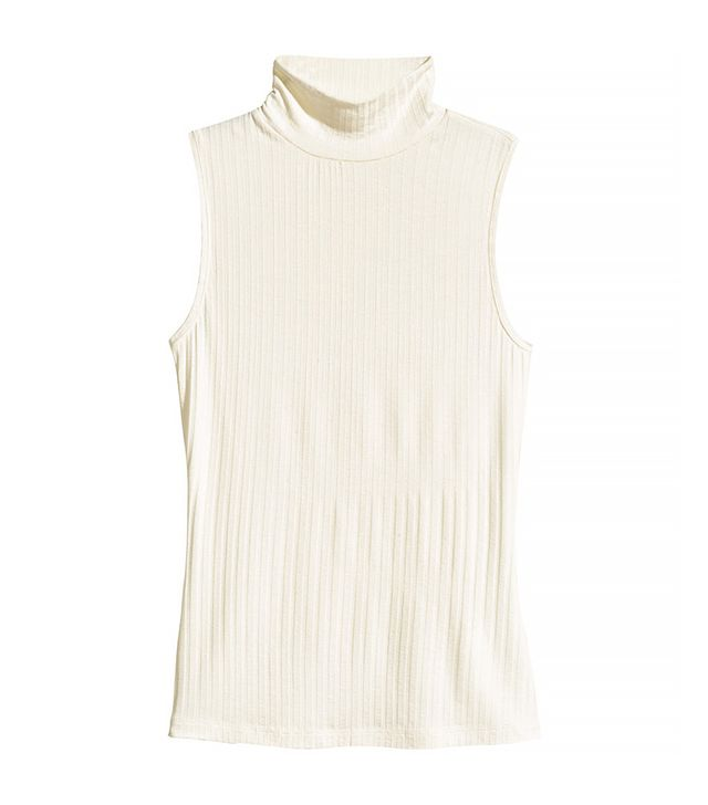 H&M Sleeveless Turtleneck Top
