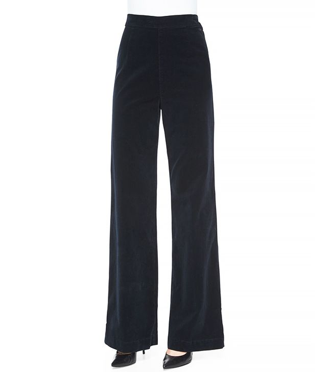 Alexa Chung for AG Laura Velvet Pants