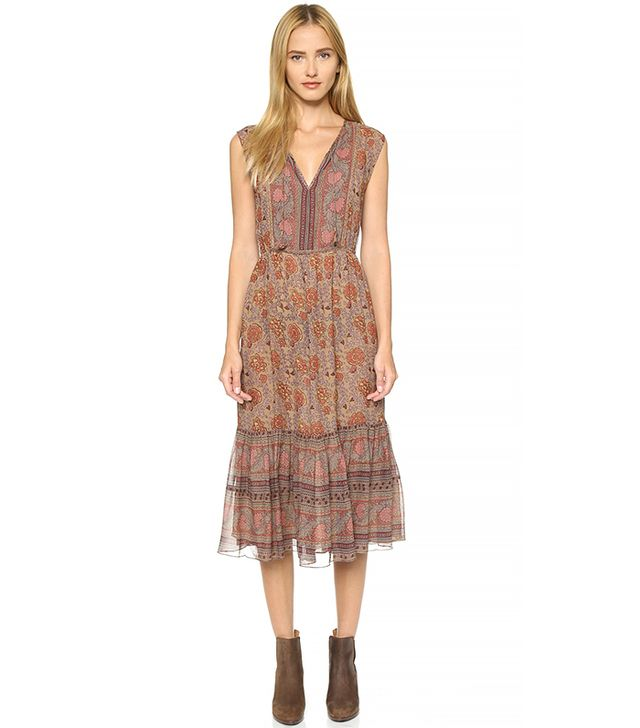 Ulla Johnson Ora Silk Dress