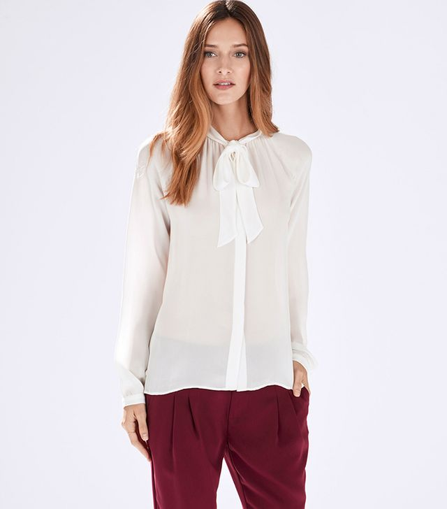 Parker Gilley Combo Blouse