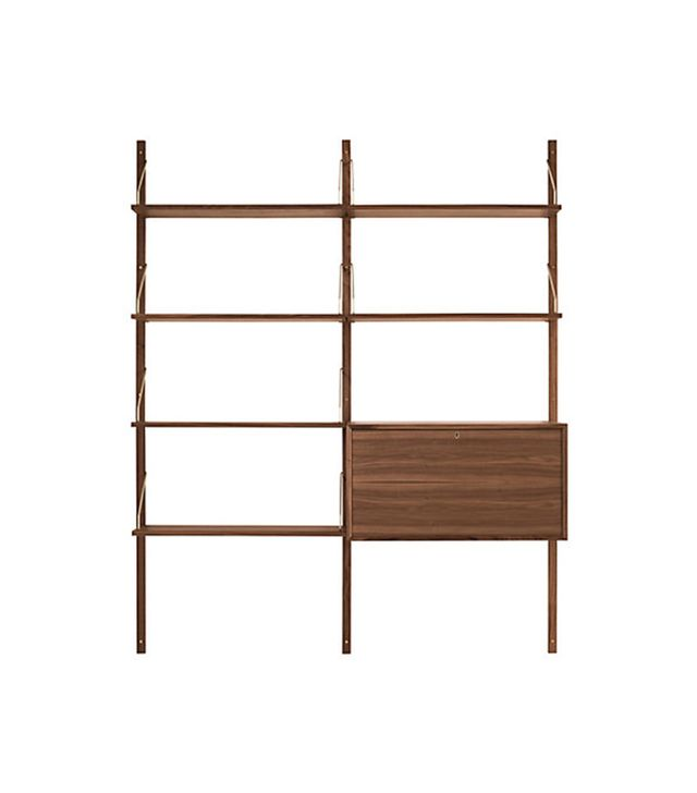 Dk3 Royal System Shelving Unit B With Desk Cabinet