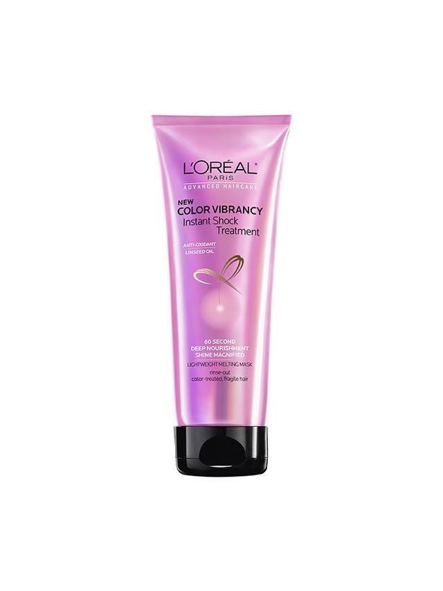 L'Oréal Paris Advanced Haircare Color Shampoo, Conditioner, and Vibrancy Instant Shock Treatment