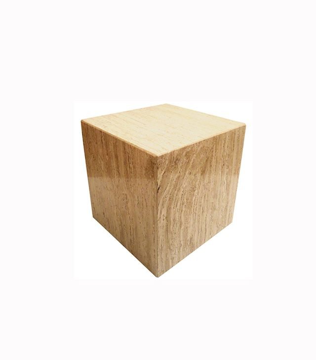 Klassik Square Cube Marble Base with Beveled Edge Corners
