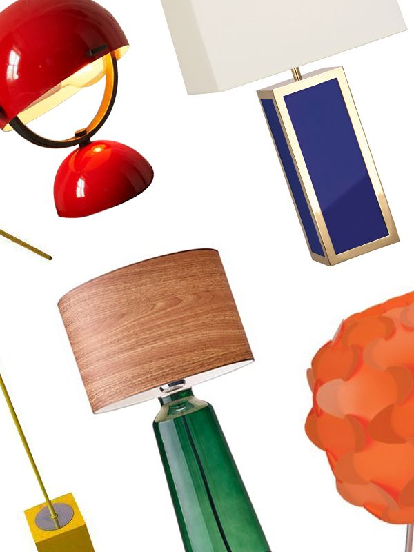 5 Bright Lamps to Add a Pop of Color