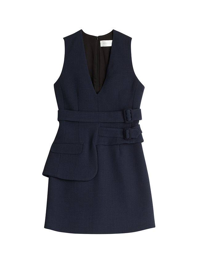Victoria Victoria Beckham Wool Mini Dress
