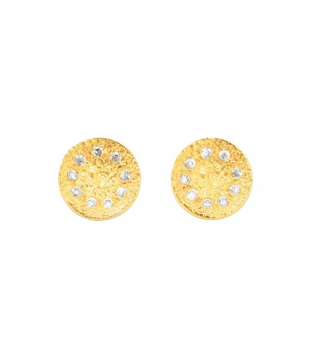 Melinda Maria Mini Nelly Pod Stud Earrings