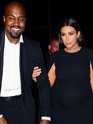 Kim Kardashian Wore a Cape to a Wedding (and It Worked)