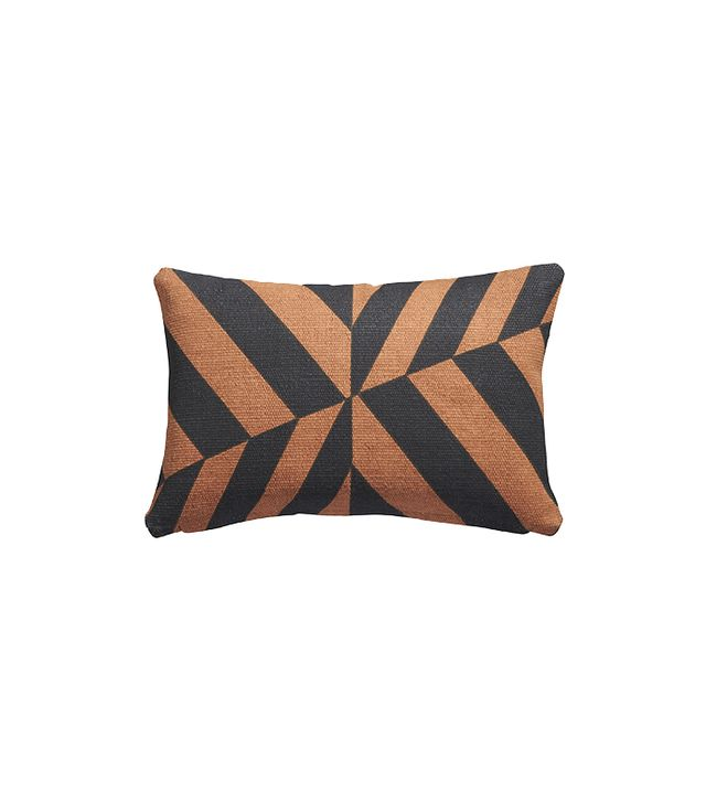 CB2 Changes Brown/Black Pillow