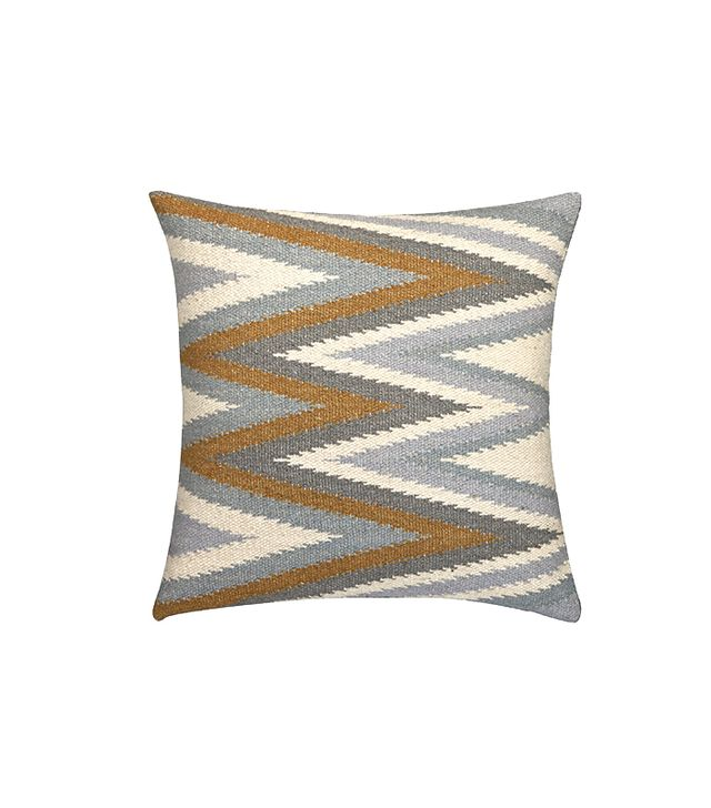 CB2 Groove Wool Pillow