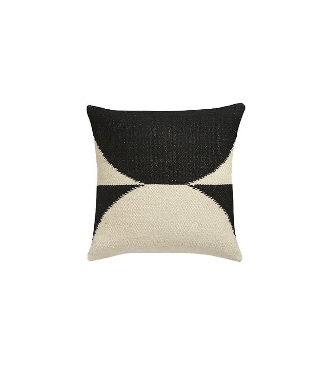 CB2 Reflect Wool Pillow