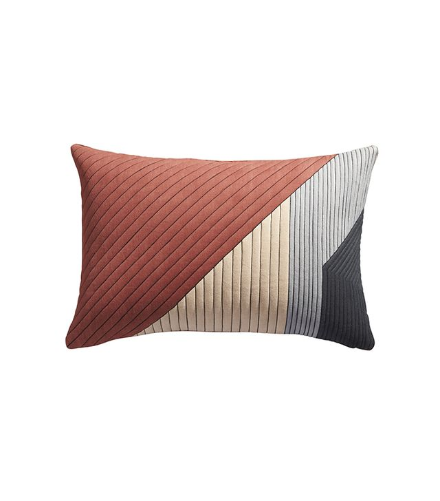 CB2 Pata Print Pillow