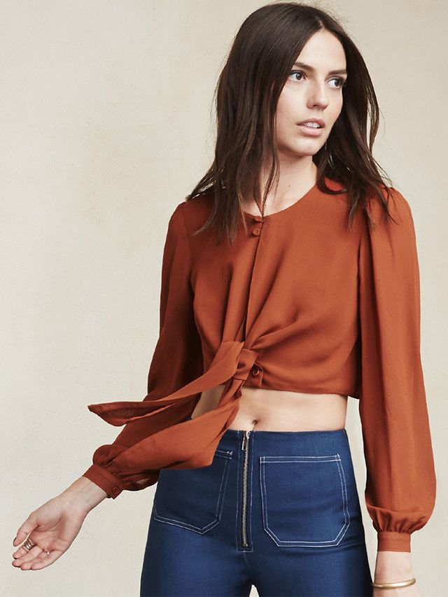 Reformation Mohawk Top
