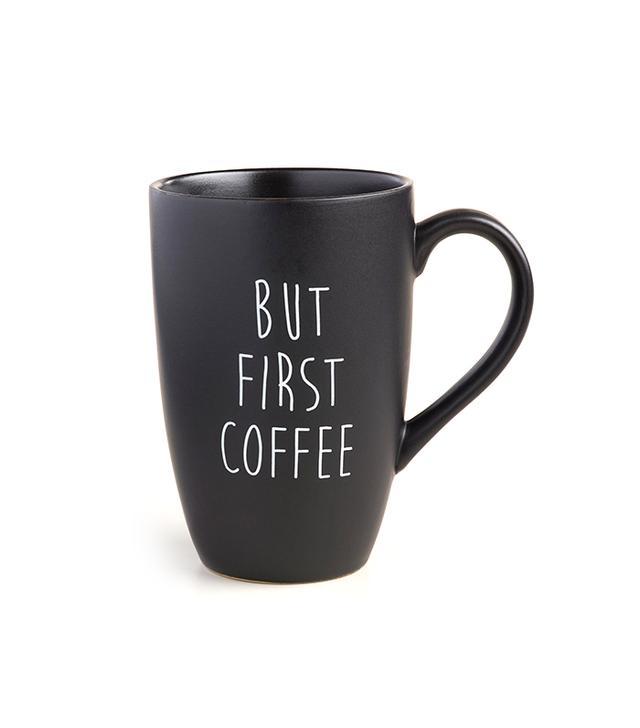 World Market But First Mugs