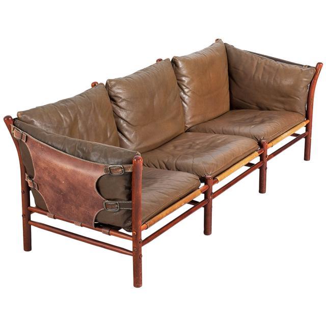 Arne Norell Illona Three-Seat Sofa