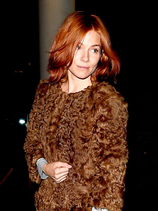 Sienna Miller Is a Redhead Now