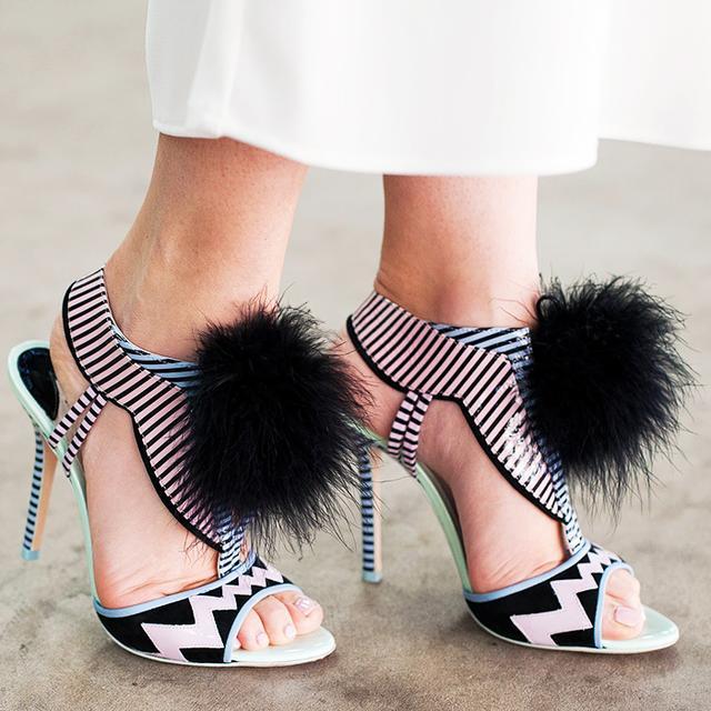 Accessory Report: Pom-Pom Heels