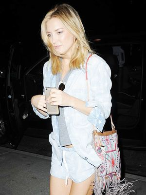 How to Mix Prints Like Kate Hudson
