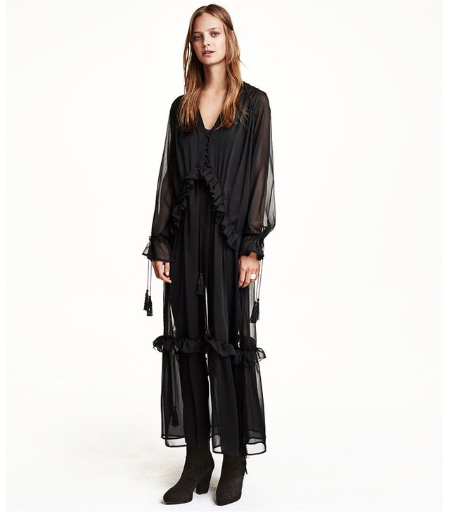 H&M Chiffon Maxi Dress