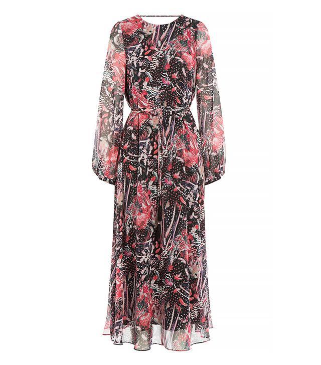 Iro Aby Printed Silk Chiffon Dress