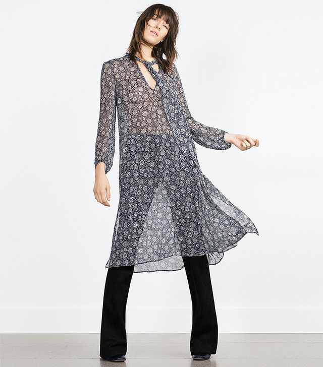 Zara Long Tunic