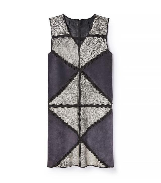 Tory Burch Crochet Suede Dress