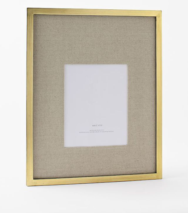 West Elm Gallery Frames in Gold Leaf