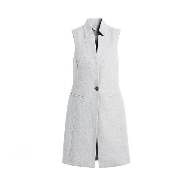 White House Black Market Long Vest