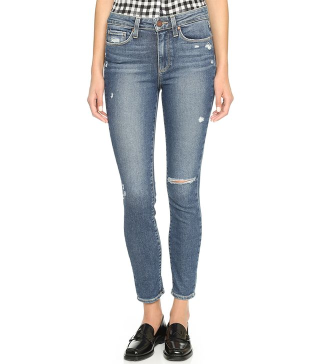 Paige Horton Ankle Skinny Jeans