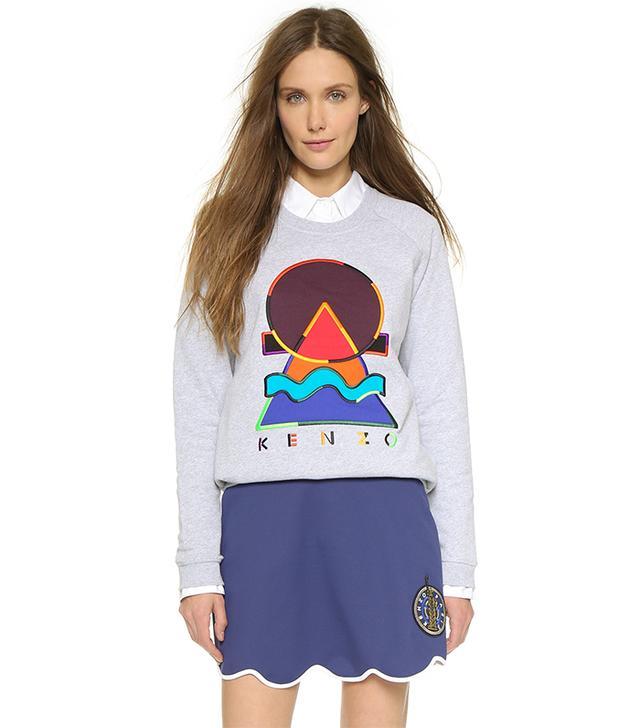 Kenzo Embellished Pullover Sweatshirt