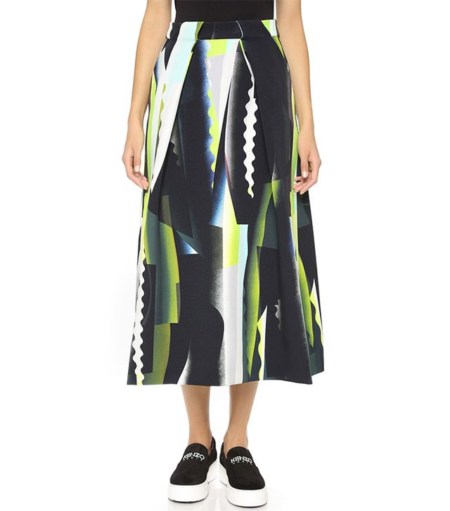 Kenzo Spray Collage Skirt